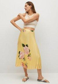 Mango - A-line skirt - gelb - 1