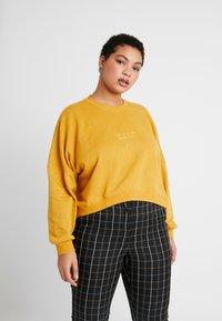 Cotton On Curve - HARPER CREW CROP - Sweatshirt - cocoon - 0
