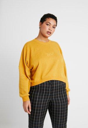HARPER CREW CROP - Sweatshirt - cocoon