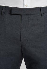 JOOP! - GUN - Pantaloni eleganti - mottled black-gray - 4