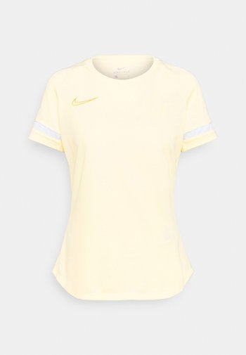 T-shirt con stampa - coconut milk/white/saturn gold