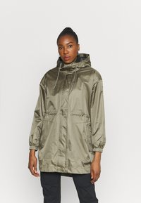 Columbia - SPLASH SIDE™ JACKET - Hardshell jacket - stone green - 0