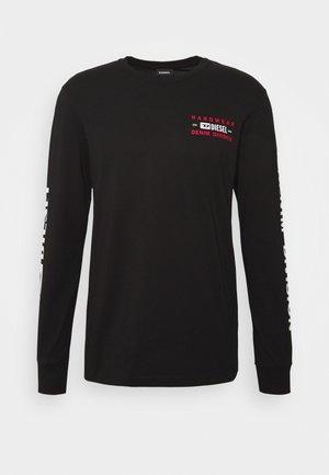 T-DIEGOS-LS-K40 T-SHIRT - Long sleeved top - black