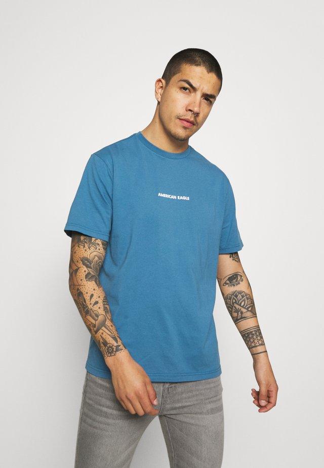 TEE - Print T-shirt - teal