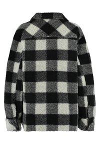 America Today - JUNE - Fleece jacket - black/white - 1