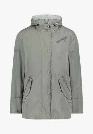 MIT KAPUZE - Light jacket - sedona sage