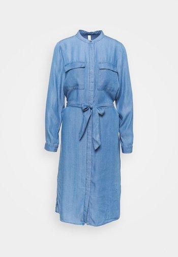 SC-LIV 18 - Denim dress - medium blue