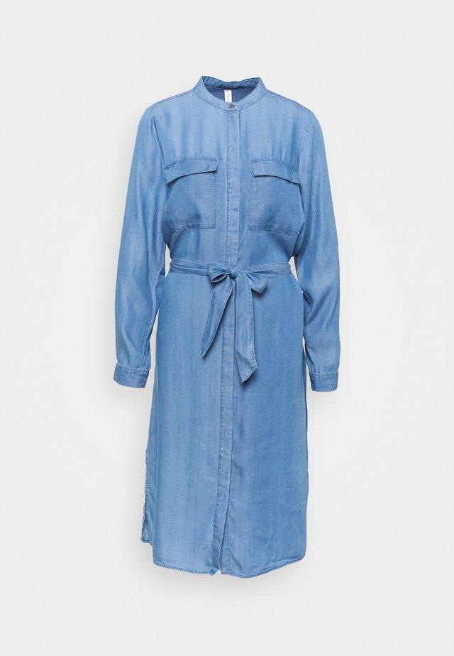 SC-LIV 18 - Spijkerjurk - medium blue