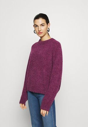 NETA CREW NECK - Sweter - purple jasper