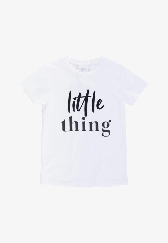 LITTLE - Print T-shirt - bright white