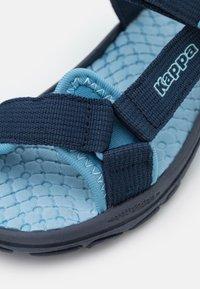 Kappa - UNISEX - Chodecké sandály - navy/mid blue - 5