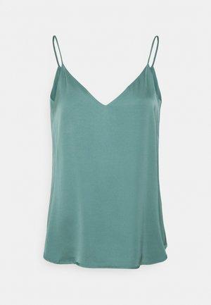 Top - dark turquoise