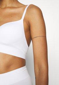 Anna Field - 2 PACK - T-shirt-bh - white - 4