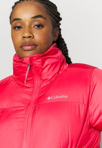 Columbia - PUFFECTJACKET - Winter jacket - bright geranium - 4