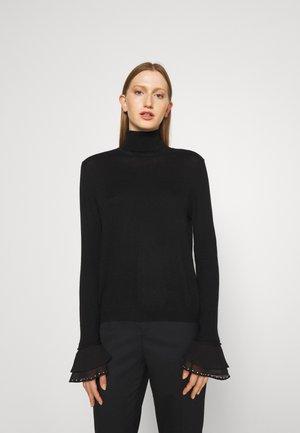 LUPETTO - Stickad tröja - nero