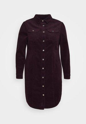 DRESS - Skjortekjole - purple