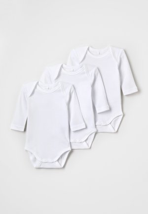 SOLID BABY 3PACK - Body - white