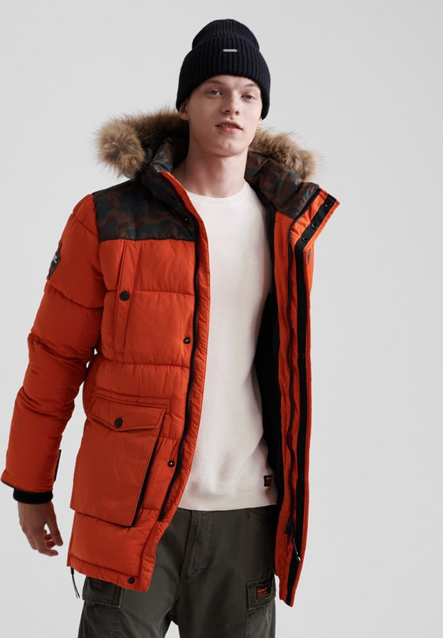 EXPLORER - Vinterfrakker - bold orange