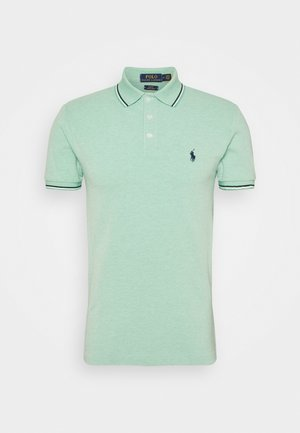 SHORT SLEEVE - Polo - resort green heather