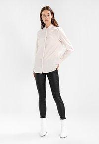 Selected Femme - SLFNOELLA - Button-down blouse - sepia rose/snow white - 2