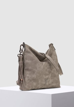 ROMY BASIC - Across body bag - darkgrey