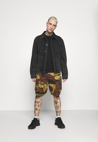 G-Star - ROVIC ZIP RELAXED - Shorts - olive/brown/beige - 1
