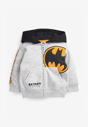 BATMAN - Sudadera con cremallera - grey