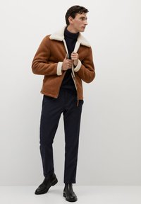 Mango - ORSON - Light jacket - kognac - 1