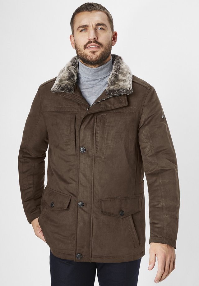 EL GRECO - Winter jacket - dark chocolate