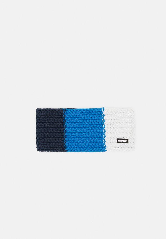 JAMIES FLAG - Ohrenwärmer - darkcobalt/bluemelange/white