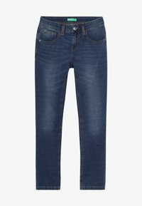 Benetton - TROUSERS - Relaxed fit jeans - blue denim - 2
