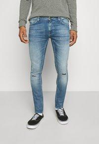 Nudie Jeans - TIGHT TERRY - Jeans Skinny Fit - mended ink - 0
