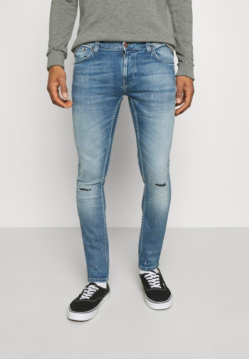 Nudie Jeans - TIGHT TERRY - Jeans Skinny Fit - mended ink