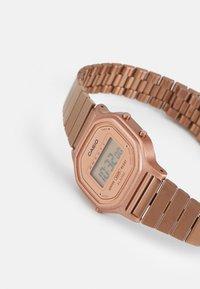 Casio - Digital watch - rosegold-coloured - 3