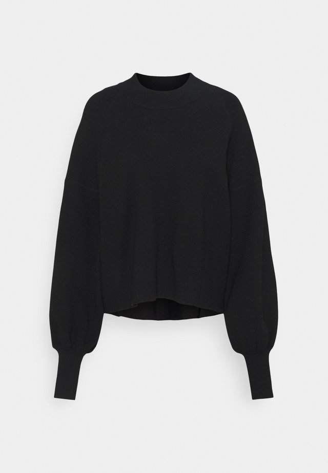 ELEANOR - Pullover - black