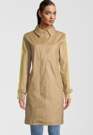 Trenchcoat - desert and limeyellow