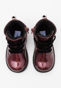 Friboo - Šněrovací kotníkové boty - bordeaux - 3