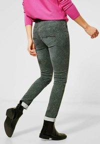 Street One - MIT COOLEM DESSIN - Slim fit jeans - grün - 1