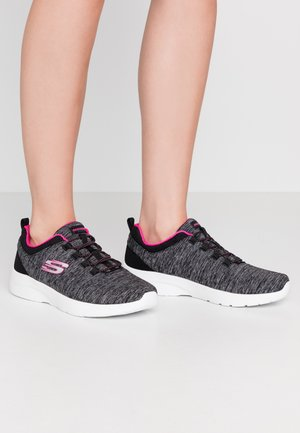 DYNAMIGHT 2.0 - Slip-ons - black/hot pink