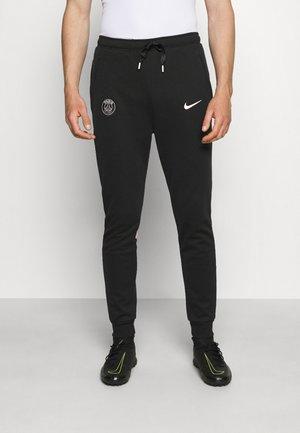 PARIS ST. GERMAIN TRAVEL PANT - Klubové oblečení - black/arctic punch