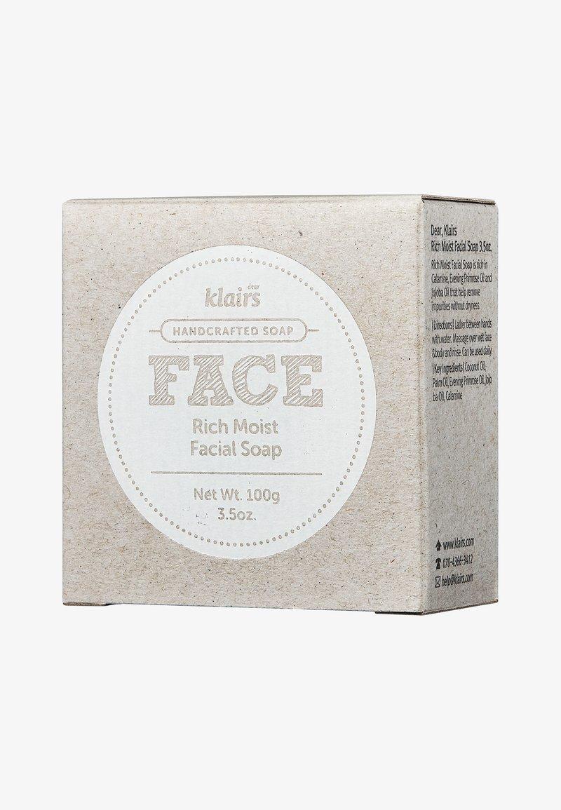 klairs - FACE RICH MOIST FACIAL SOAP - Soap bar - -