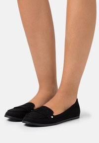 Dorothy Perkins - LAUR LOAFER - Mocasines - black - 0