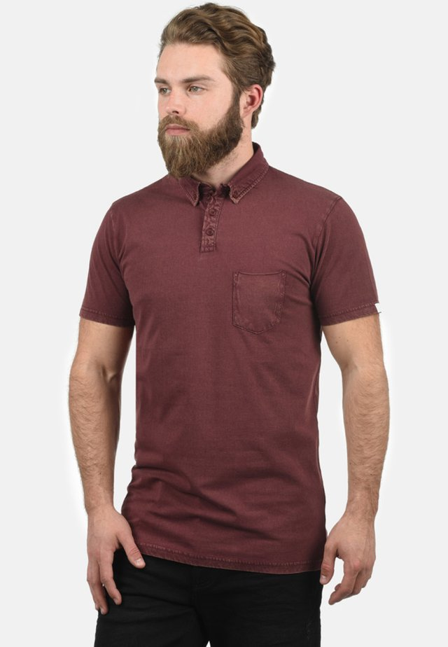 PAT - Polo - wine red