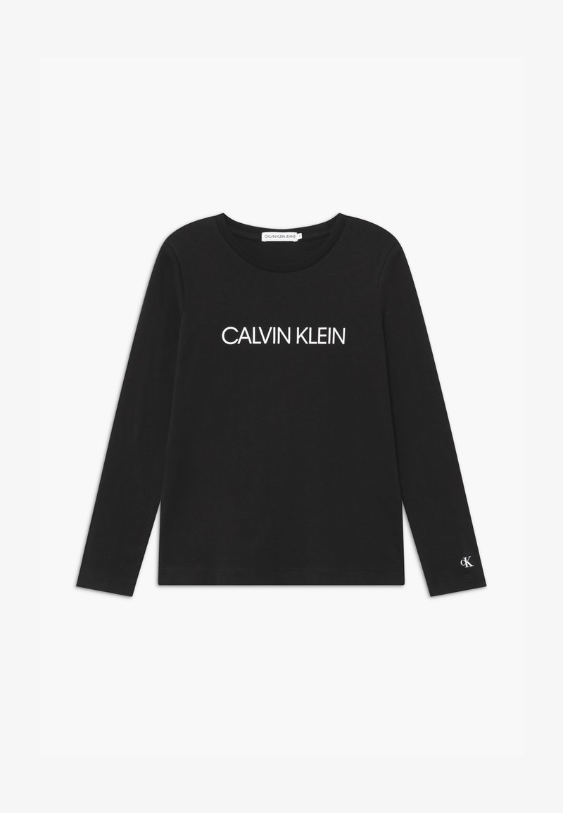Calvin Klein Jeans - INSTITUTIONAL LOGO  - Top s dlouhým rukávem - black