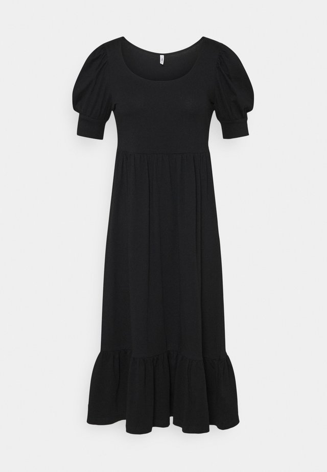 ONLMAY LIFE PUFF DRESS - Korte jurk - black