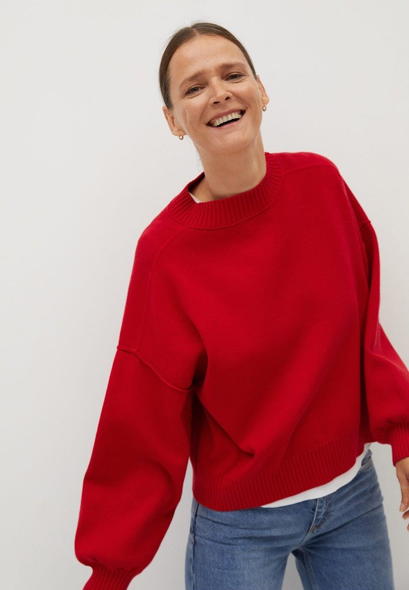Mango - YLENIA - Sweater - red