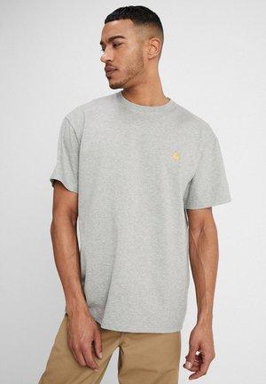 CHASE - Basic T-shirt - grey heather