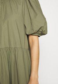 Envii - ENSAFFRON DRESS - Maxi dress - deep lichen green - 5