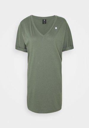 LOOSE DRESS V WMN S\S - Jersey dress - orphus