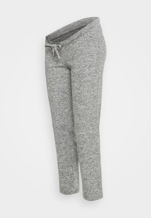 MLNEWJANNI LOUNGE PANTS - Tracksuit bottoms - light grey melange